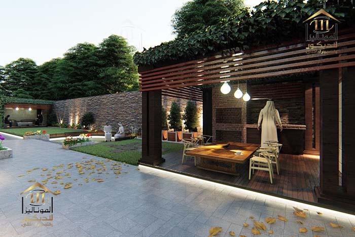 جموعة الموناليزا_الديكور والتصميم الداخلي_تصميم حدائق