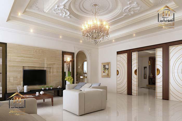 تصميم غرف المعيشة