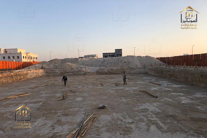 مجموعة الموناليزا_المقاولات العامه والبناء_أعمال إنشائيه (46)